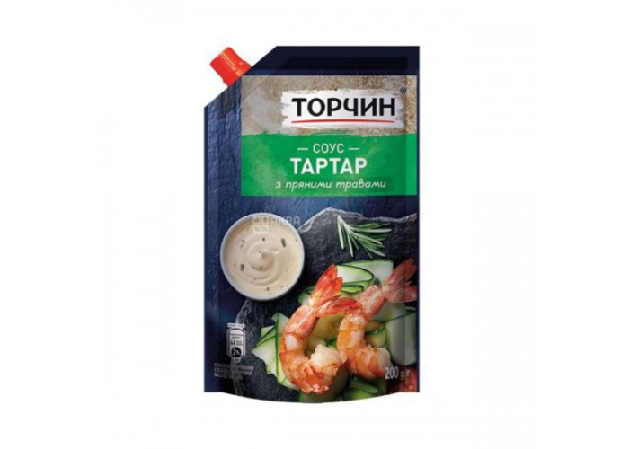 "СОУС ТАРТАР, 200г, ТМ ""ТОРЧИН"""