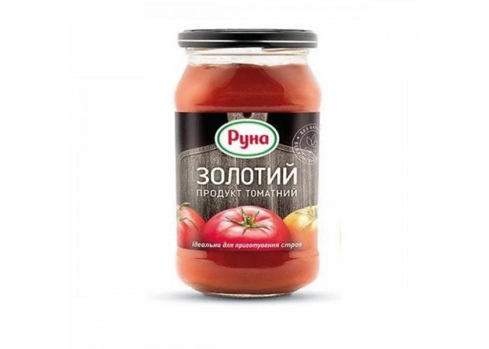 """ТОМАТ ЗОЛОТИЙ 20% 490Г ТМ """"РУНА"""""""